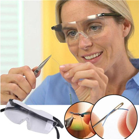 Big Vision 1.8 times Magnifying Glasses Magnifier Reading Glasses Pro 250% Magnification Presbyopic Eyewear Magnifies Lens