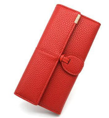 Luxury Phone  Wallets For Women | Lady's Leather Clutch Wallet Purse with Card Holders
