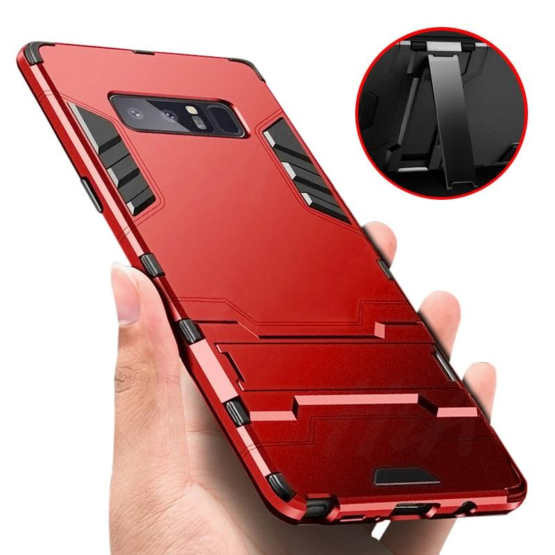 Full Cover Shockproof Armor Phone Case For Samsung Galaxy S9 S8 Plus S7 Edge Matte Protective Cover For Samsung Note 8 Case - P&Rs House