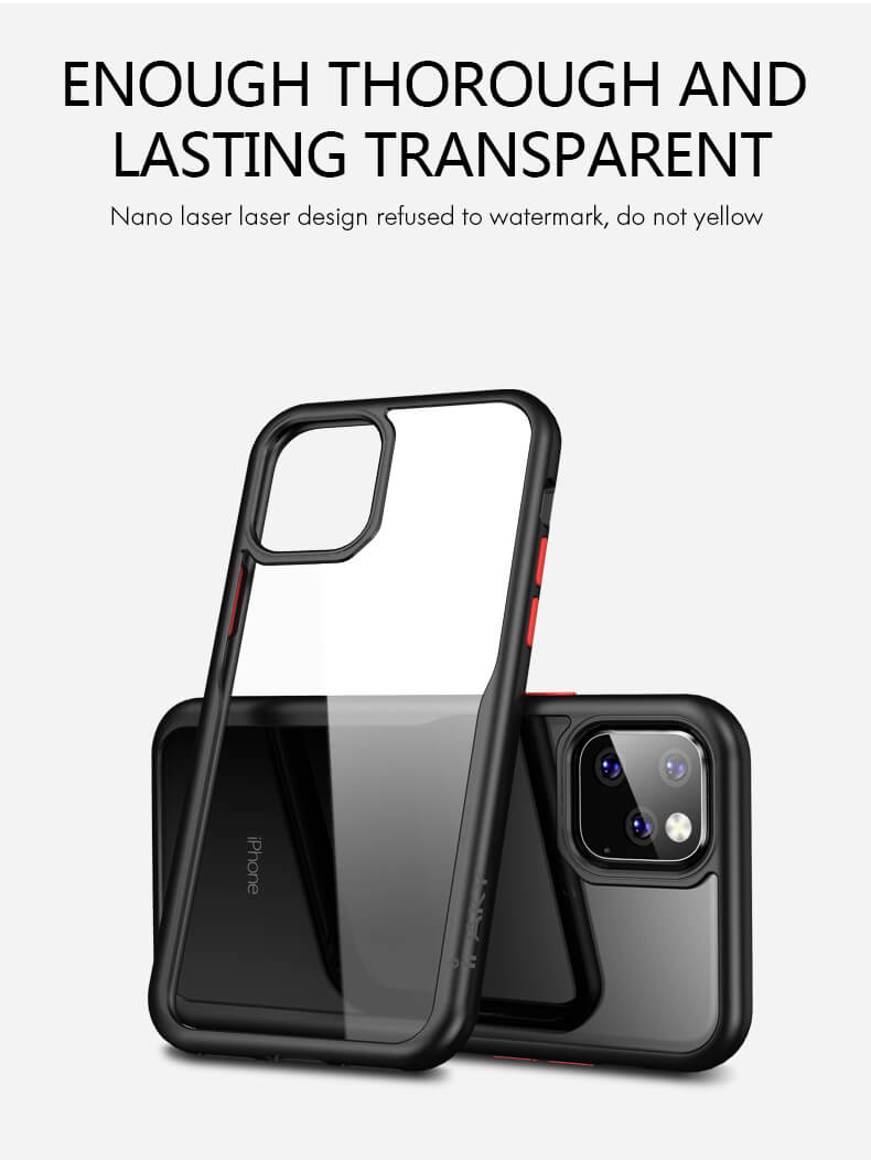 New iphone11 6.1 protective cover | shatter-resistant 6.5 lanyard transparent soft shell