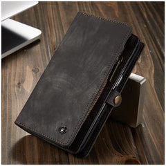Luxury Leather Wallet with 11 Card Holders And Detachable Phone Case for Samsung Note 10 Plus A20 A50 A70 A80 S9 S8 Note 9
