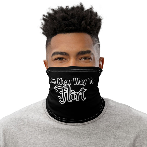 Funny Quote New Flirt Neck Gaiter | Funny Quote Face Mask