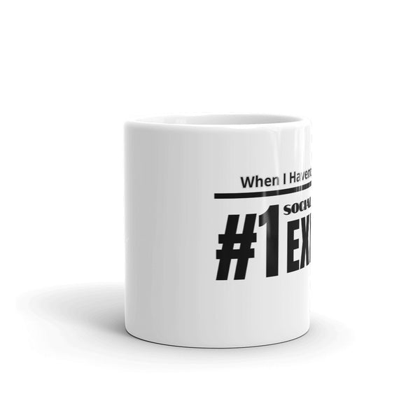 Funny Quote Social Distance Coffee Mug