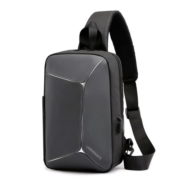 Multifunction Cross Body Bag | Mens Shoulder Bag | Anti-theft Messenger Bags For Men Women | Waterproof Backpack | Chest Bag Mochila