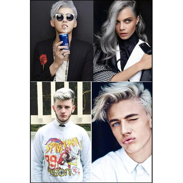 MOFAJANG Unisex DIY Hair Color Wax | Mud Dye Cream Temporary Modeling 7 Colors Available!