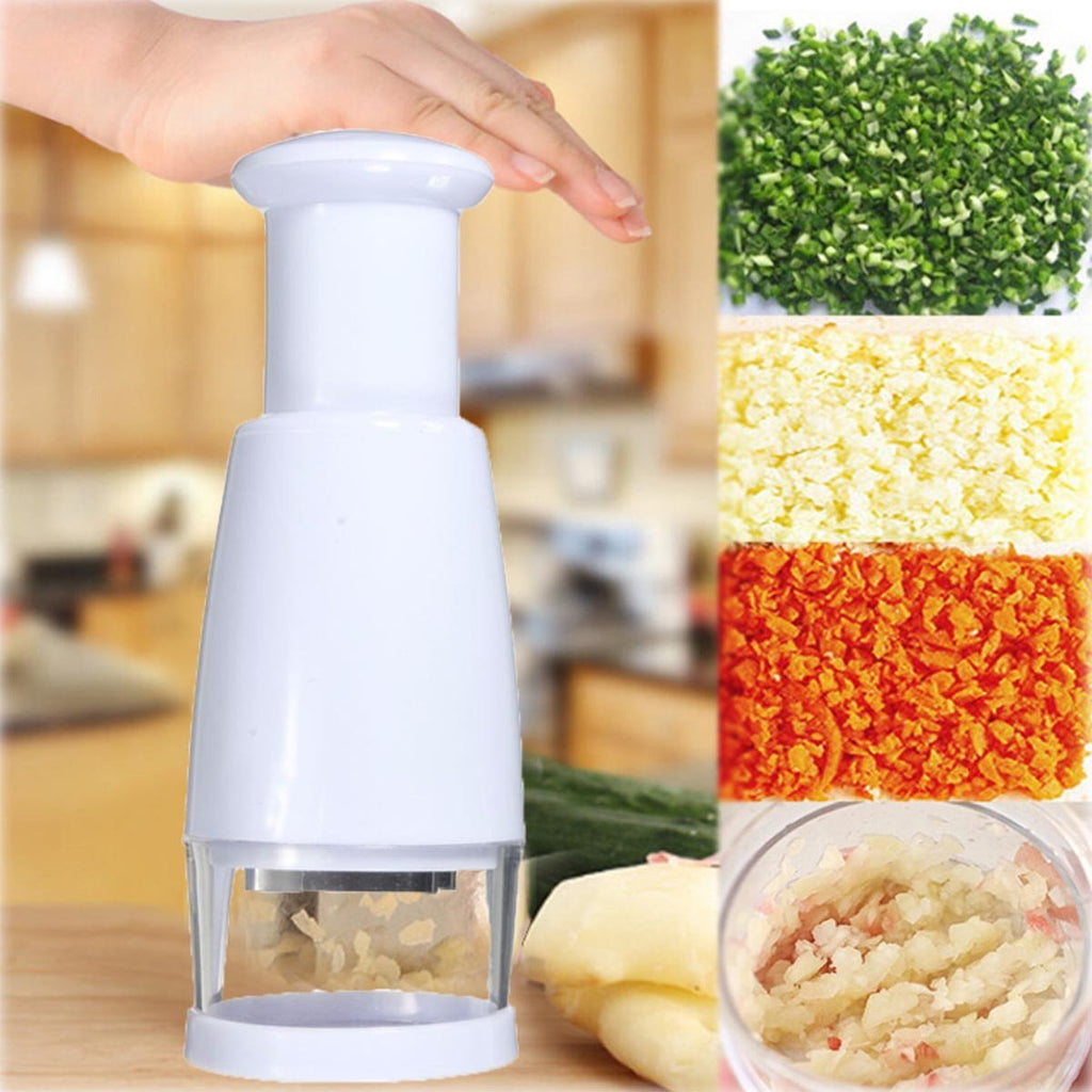 Vegetable Garlic Shallot Chopper Cutter Slicer Peeler Kitchen Twister Tool - P&Rs House