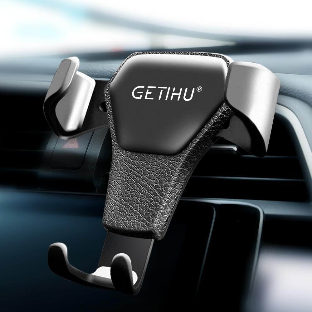 GETIHU Universal  Gravity Car Phone Holder + Air Vent Clip Mount | Universal Anti-Magnetic Mobile Phone Holder - P&Rs House