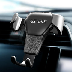 GETIHU Universal  Gravity Car Phone Holder + Air Vent Clip Mount | Universal Anti-Magnetic Mobile Phone Holder