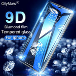 9D  Full Cover Tempered Protective Glass on the For iPhone 6 6s 7 8 plus XR X XS i - P&Rs House