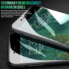9D  Full Cover Tempered Protective Glass on the For iPhone 6 6s 7 8 plus XR X XS i