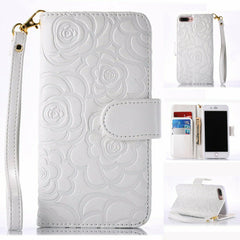 For iPhone 11 Pro XS Max 8 7 Leather Flip Card Wallet Flower Pattern Case Cover
