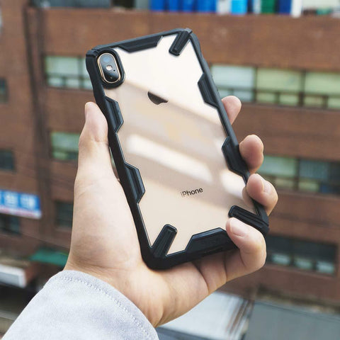 For iPhone X XS XR XS Max Case | Ringke [Fusion-X] Shockproof Armor Bumper Cover