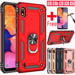 Shock Armor Case For Samsung Galaxy A10e A10s A20s A30 A50 Shockproof Case Cover + Tempered Glass - P&Rs House