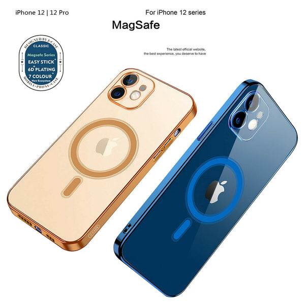 Magnetic Clear Phone Case Mag Safe Cover For Apple iPhone 12 Pro Max 12 Mini 12