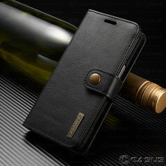 Leather Flip Case Cover Removable Wallet  For Galaxy S10/S9/S8/Note 10/9/8