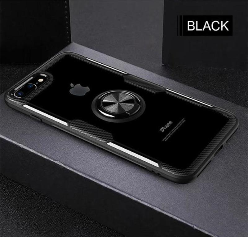 STANDOUT Luxury Silicone Soft Bumper Case For IPhone 8 6 6s 7 Includes Car Holder Ring | STANDOUT Case For IPhone X XR XS Max Shockproof Phone Case - P&Rs House
