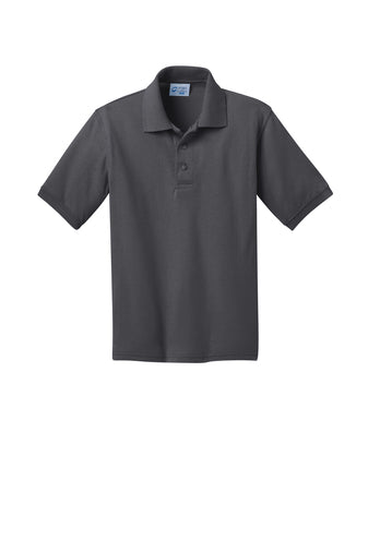 Matthew Gilbert Middle School 7th Grade Polo: Dark Grey
