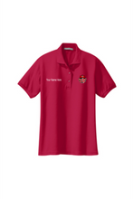 Load image into Gallery viewer, Fleet DJ's Custom Female Polo Shirt w/Name