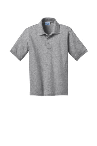 Wayman Academy Uniform Polo: Light Grey
