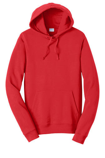 AJHS Embroidered Hoodie: Red (Only YXL, 2XL & 3XL Available)