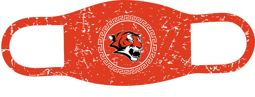 Custom Tiger Face mask, 100% Polyester