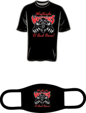 Load image into Gallery viewer, Westside High 2021 Senior T-Shirt & Mask: Black