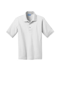 Susie Tolbert Uniform Polo: White