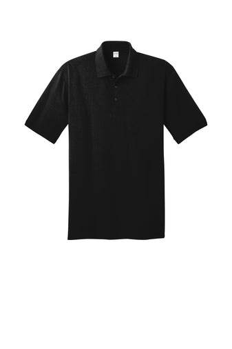 Andrew Jackson High Uniform Polo: Black