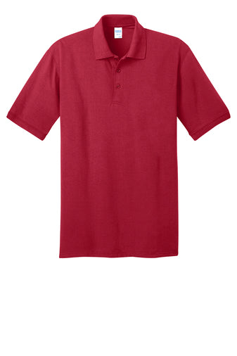 Andrew Jackson High Uniform Polo: Red