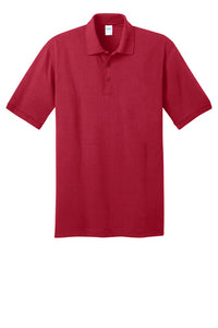 Sallye B. Mathis School Uniforms: Red Polo