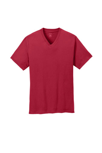 Andrew Jackson High Uniform V-Neck T-Shirt: Red