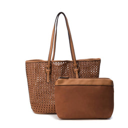 Bolso doble Taupe
