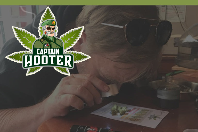 CAPTAIN HOOTER THE CANNABIS CONNOISSEUR VISITS ALL 167 COFFEE SHOPS IN AMSTERDAM