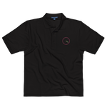 420 CLOCK Premium Embroidered Polo Shirt