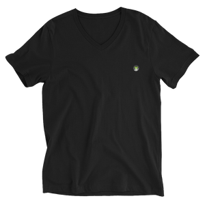 VPRZRS Badge V-Neck Unisex Black Tee