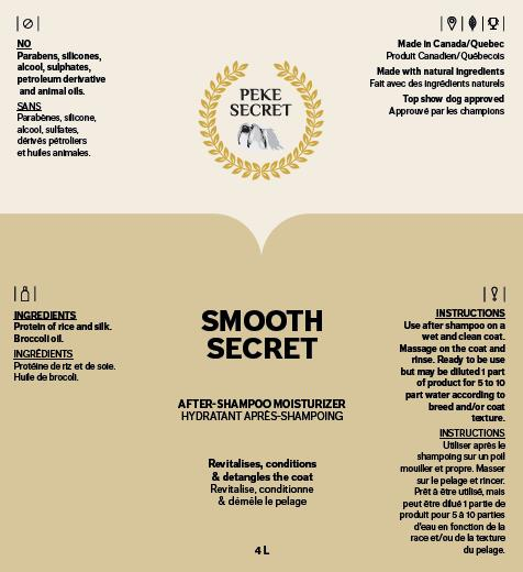 SMOOTH SECRET natural shampoo for cats and dogs
