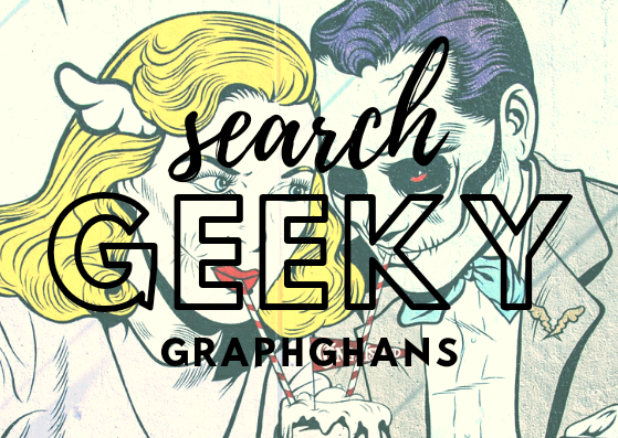 search all geeky graphghans