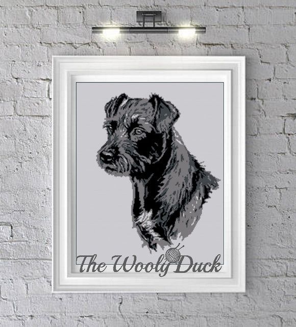 Welsh Terrier Photoghan Pattern