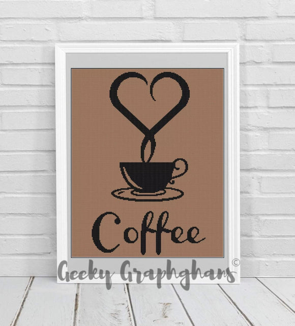 Coffee Crochet Graphghan Pattern