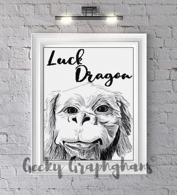 Falkor The Luck Dragon Crochet Graphghan Pattern