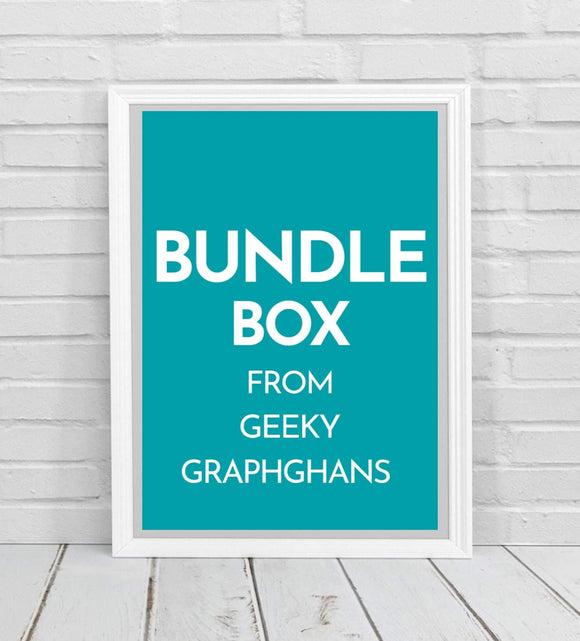 Bundle Box #1 From Geeky Graphghans