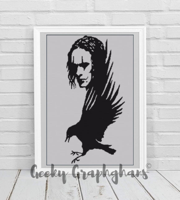 The Crow Crochet Graphghan Pattern