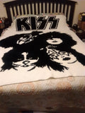 Kiss Band Inspired Graphghan Crochet Pattern SC 200 x 300