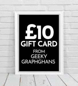 Geeky Graphghans eGift Card