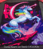 Magical Unicorn Crochet Graphghan Pattern