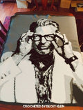 Jeff Goldblum Crochet Photoghan Pattern