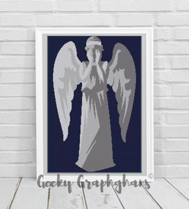 Weeping Angel Crochet Graphghan Pattern