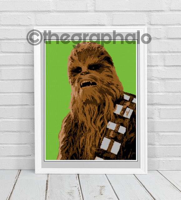 Chewbacca Inspired Photoghan Crochet Pattern SC 170 x250