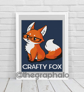 Crafty Fox Crochet Grapghan Pattern