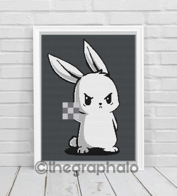 Bad Bunny Crochet Graphghan Pattern